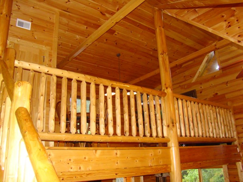 Gatlinburg luxury cabin interior - Elk Springs Resort