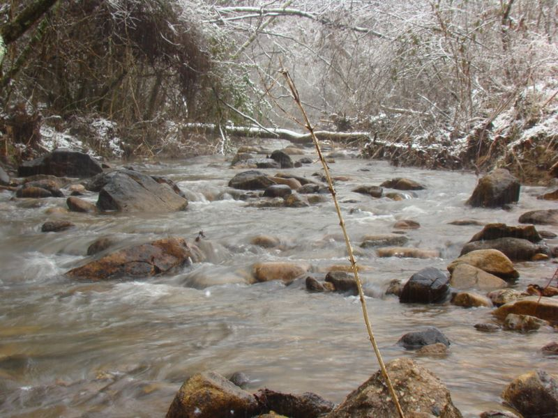 Waldens Creek - Sevier County in the Smoky Mountains. Photo by Jay Fradd. Copyright 2009.