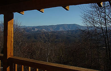 "Pigeon Forge Cabin Rental with breathtaking mountain views! ""Cabin of Dreams"" is located high atop Bluff Mountain with spectacular vistas of the Smoky Mountains"