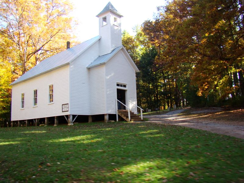 Missionary Baptist Church - Cades Cove - Great Smoky Mountains National Park