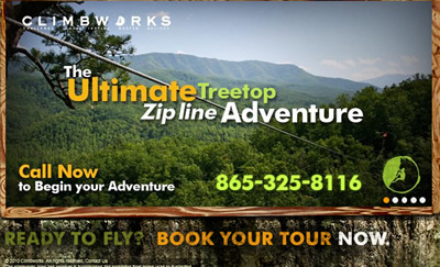 Gatlinburg Zipline, Gatlinburg Zip Line Canopy Tour, Gatlinburg's #1 Attraction, Climb Works Canopy Zipline Tours,Climbworks Canopy Tours Gatlinburg