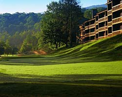 Bent Creek Golf Course - Cobbly Nob just outside of Gatlinburg, TN in the Smoky Mountains