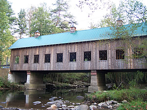 Emerts Cove covered bridge in Pittman Center, TN