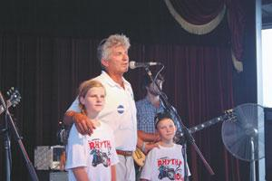 Jim, Callie, and Cale Deanda - Rhythm And Roll Cure Finders Cystic Fibrosis Charity Event - Photo From the