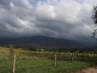 View of Cades Cove from Sparks Lane