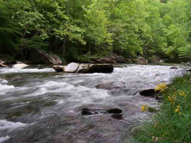 The Little Pigeon River - Pittman Center, TN. Riversong Estates Lot #16