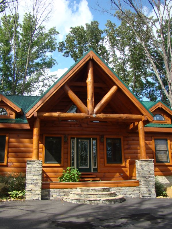 Luxury Log Cabin On Murray Ridge Road In The Smoky Cove Development    Pigeon Forge,