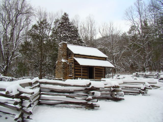 The John Oliver Cabin in Cades Cove