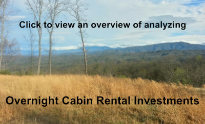 Overnight Cabin Rental Investment Analysis - Gatlinburg, Pigeon Forge, Wears Valley, and Sevier County