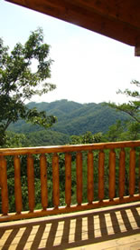 View from a cabin on Nickel Ridge in Brothers Cove Resort - photo by Jay Fradd