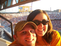 Tennessee Vol Football in the Luxury Box November 2007