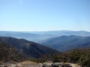 View from Rocky Top in the Great Smoky Mountains National Park