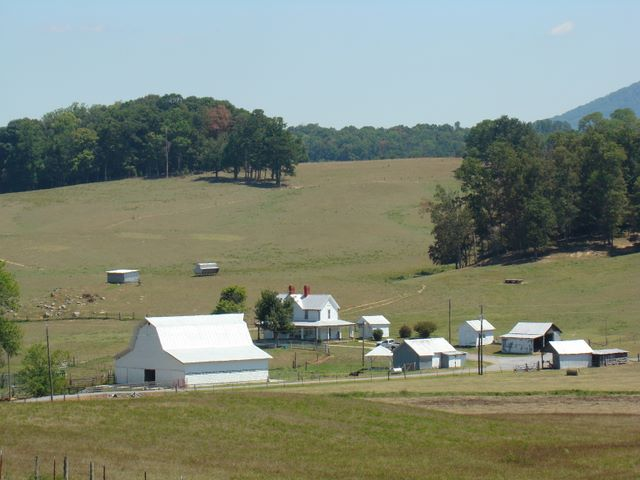 View of Farm off Fox Cemetery Road in New Center